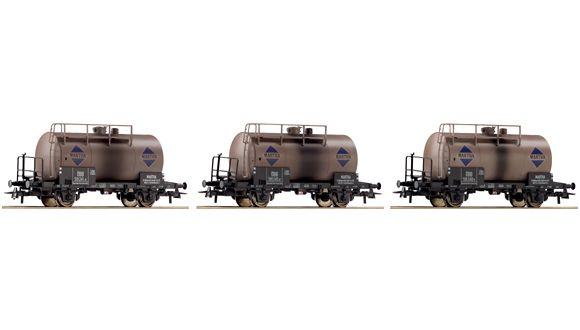 Set med tankvagnar MARTHA, Roco