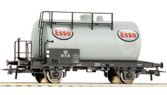 Tankvagn ESSO DSB, Roco