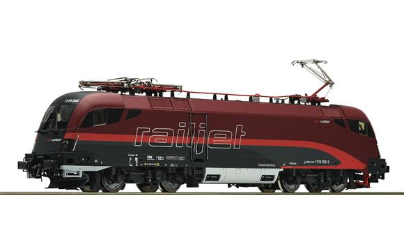 E-Lok Rh1116 Railjet Cam, Roco
