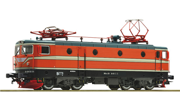 Ellok Rc3 SJ orange sound, Roco