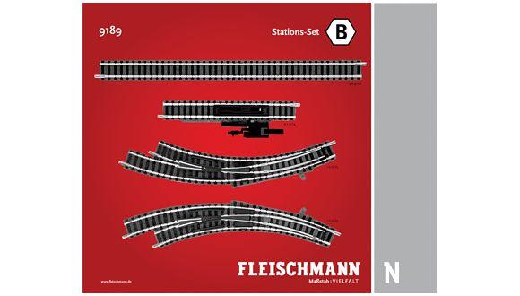 lagerNStationsset B, Fleischmann