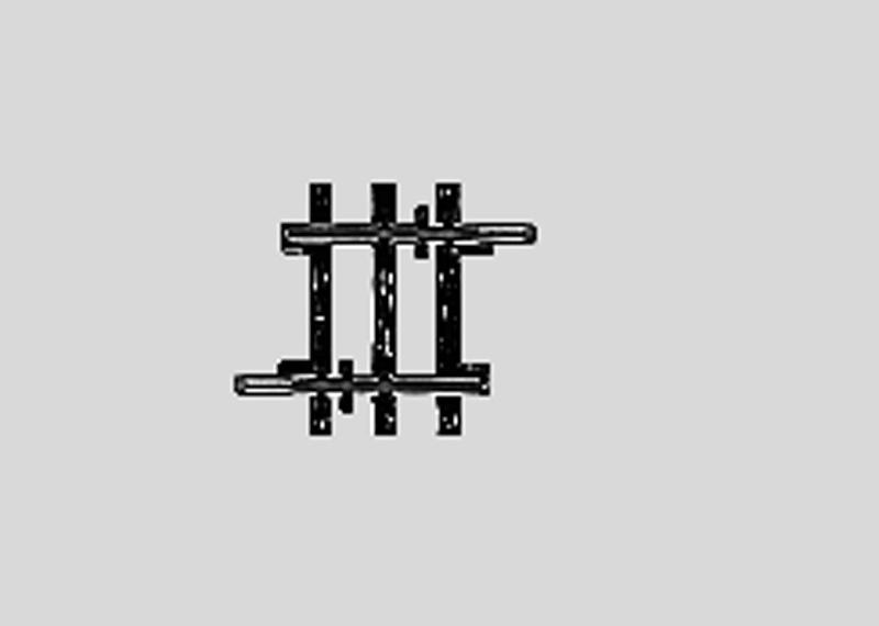 lagerBRak räls  22,5 mm, Märklin