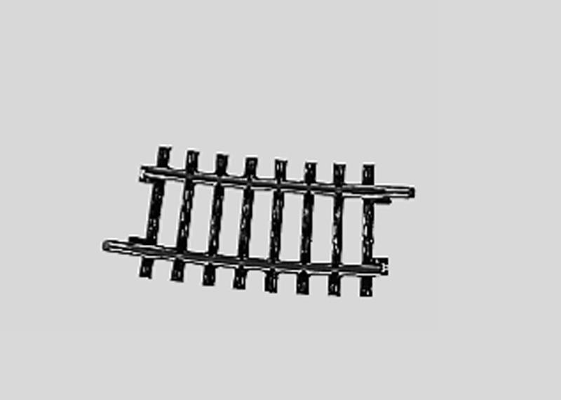 lagerBBöjd räls .r424,6 mm, Märklin