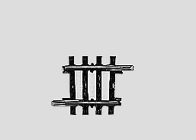 lagerBBöjd räls r424,6 mm, Märklin