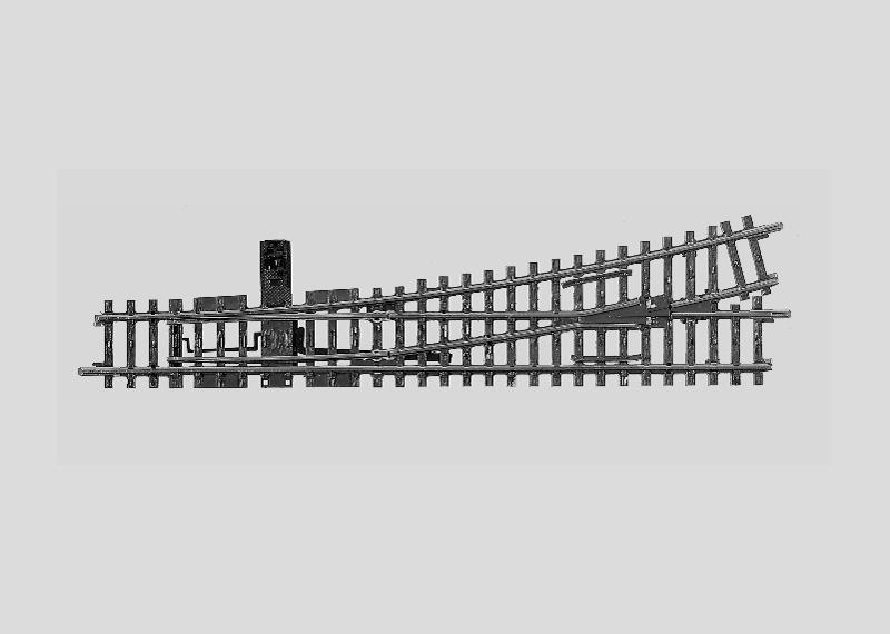 lagerBVäxel vänster r902,4 mm, Märklin