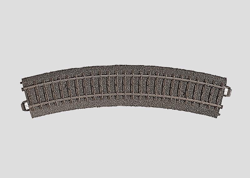 lagerBBöjd räls r360 mm,30 Gr., Märklin