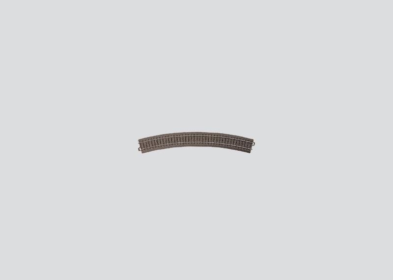 lagerBBöjd räls r579,3 mm, Märklin