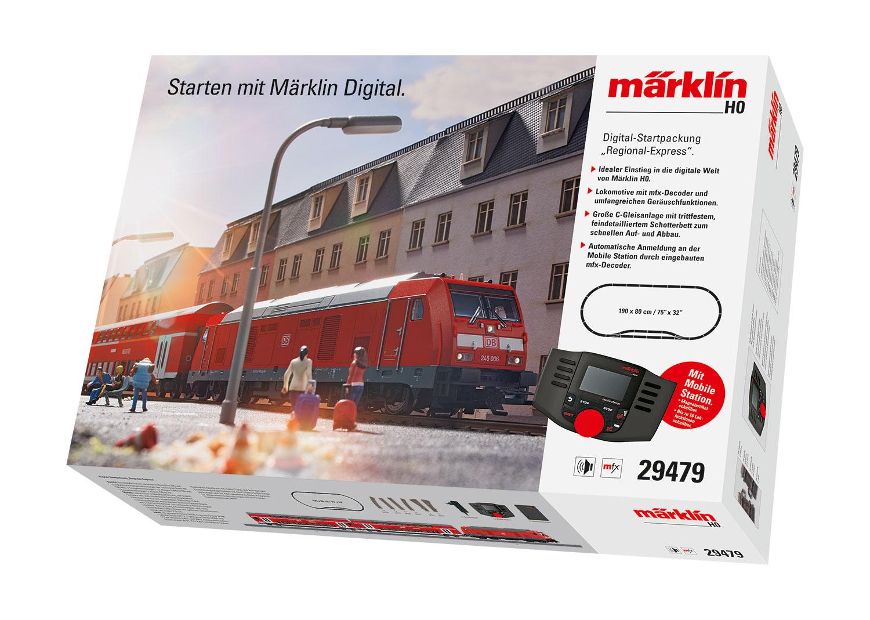 lagerBSIDigital startsats Br245, Märklin