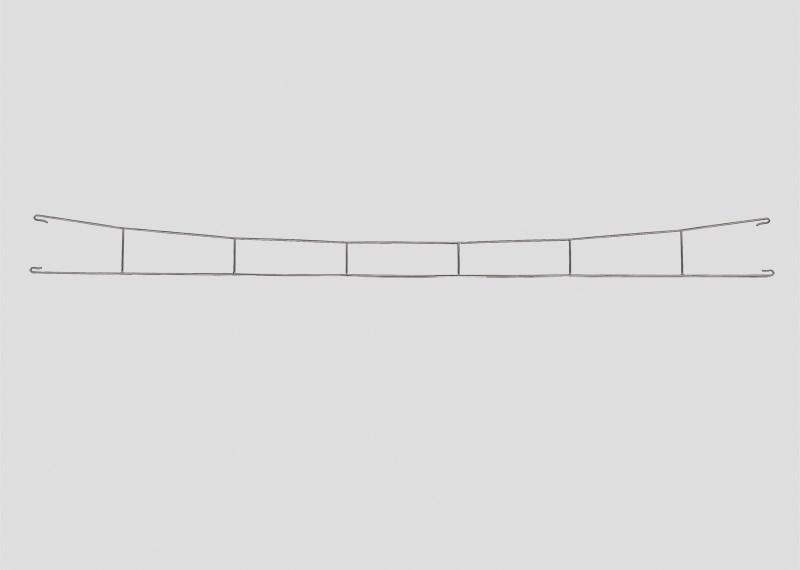 lagerBFahrdrahtstück 253 mm, Märklin