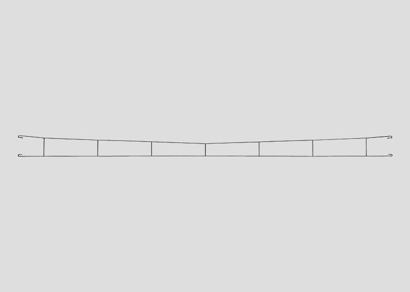 lagerBKontaktledning 360mm, Märklin
