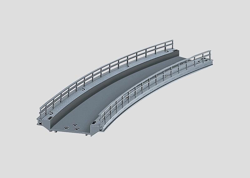 lagerBBöjd bro r 437,5, Märklin