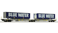 Trailervagn Blue Water