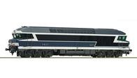 Diesellok CC 72000, blau