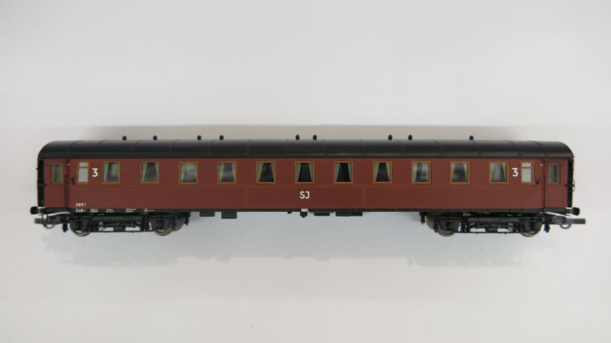 SJ Personvagn 2891 Co8, Begagnat