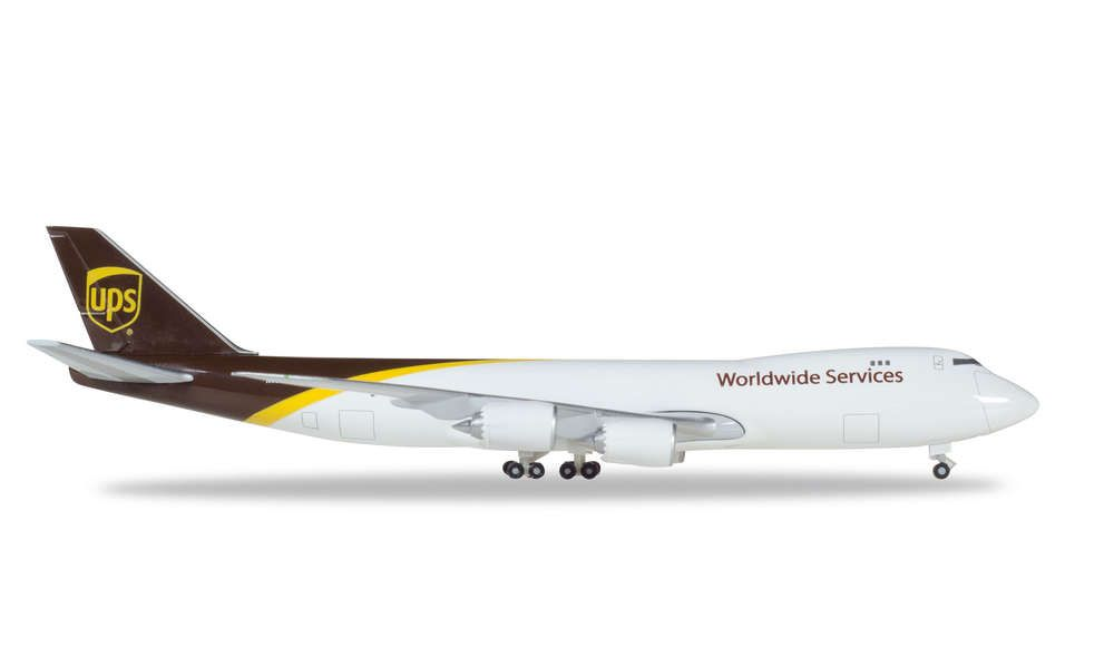 lagerUPS Airlines Boeing 747-8, Herpa