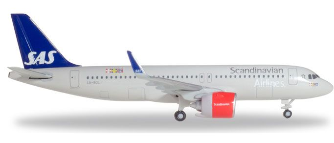 Airbus A320neo 1/500, Herpa