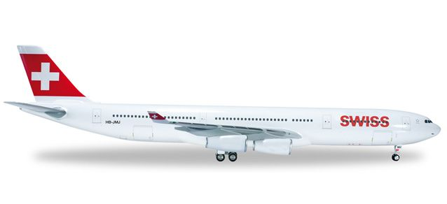 Airbus A340 Swiss, Herpa