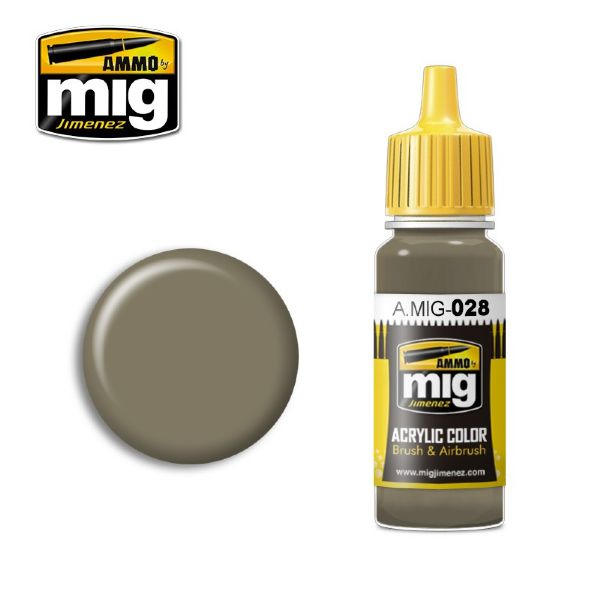 lagerRAL7050 F7 GERMAN GREY BE, Ammo MIG