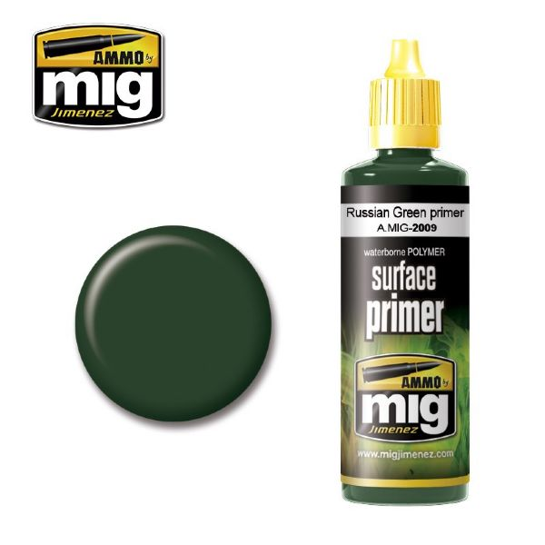 lagerRUSSIAN GREEN PRIMER, Ammo MIG