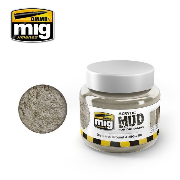 DRY EARTH GROUND, Ammo MIG