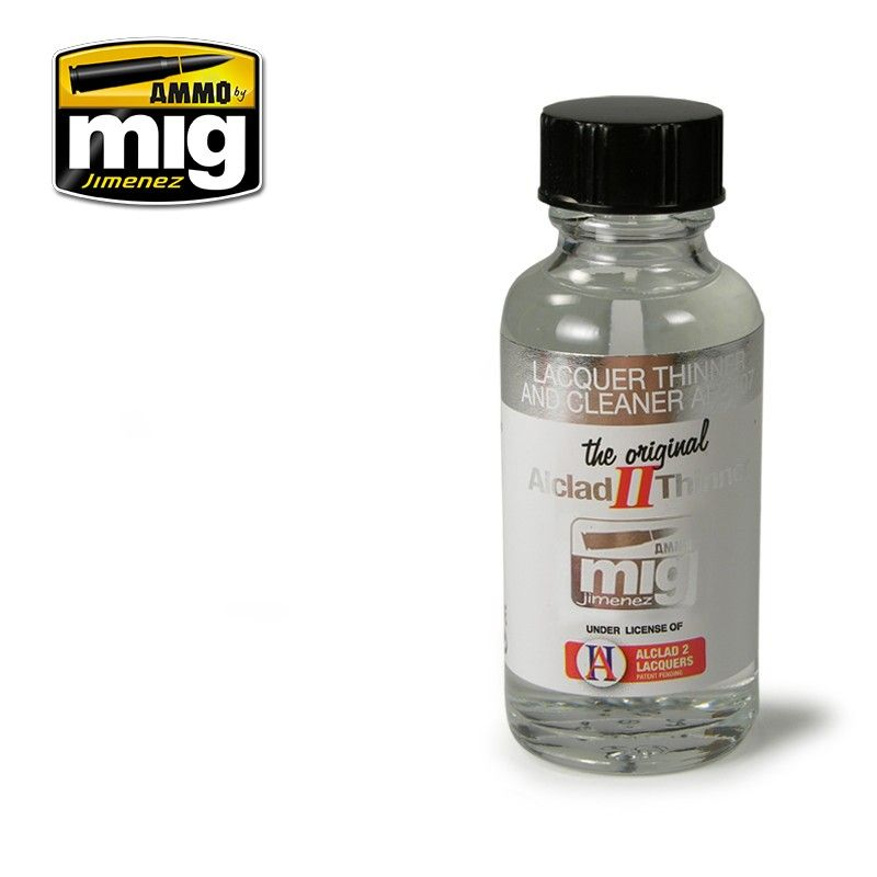 lagerLACQUER THINNER AND CLEAN, Ammo MIG
