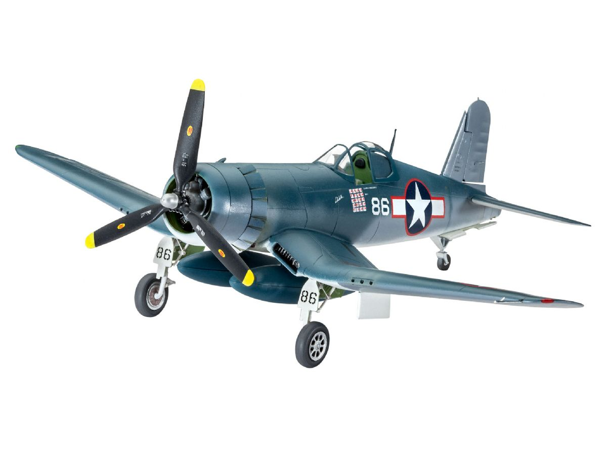 lagerVought F4U-1D CORSAIR, Plastbyggsatser
