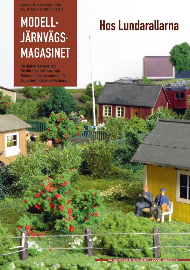 MJ-Magasinet 34, Tidningar
