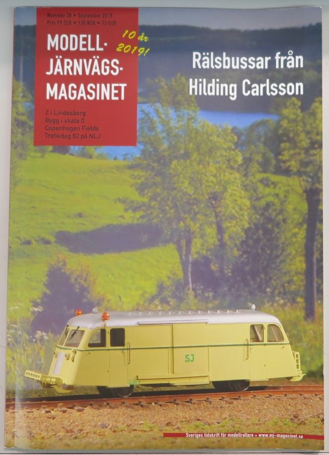 MJ-Magasinet 38, Tidningar