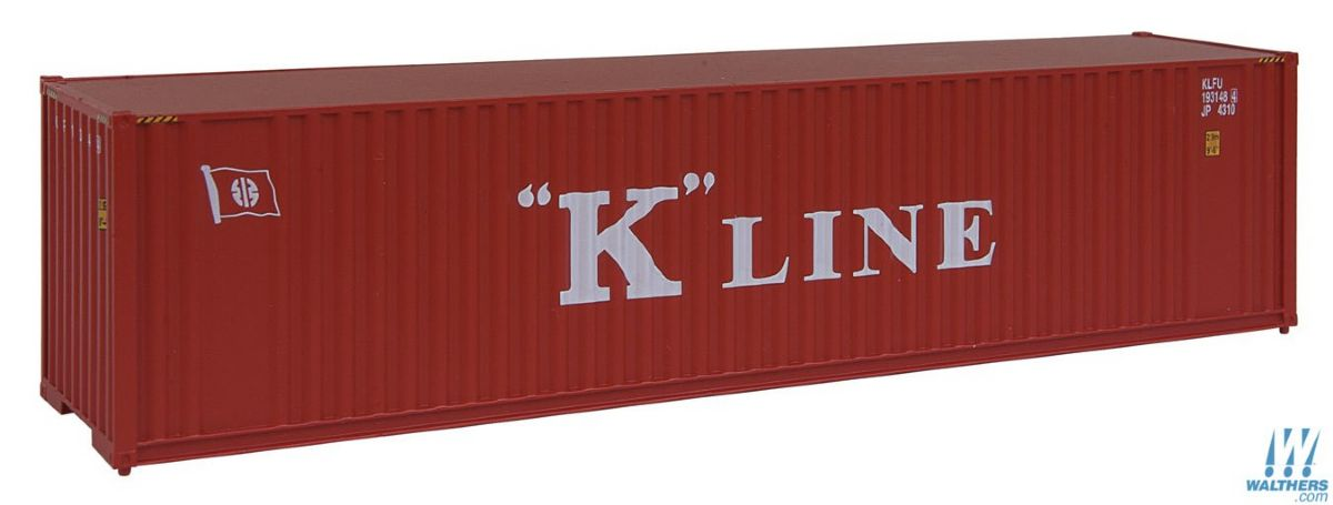 lagerContainer 40 K-line H0, Walthers